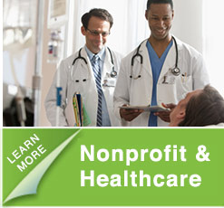 Search services for nonprofit and healthcare positions